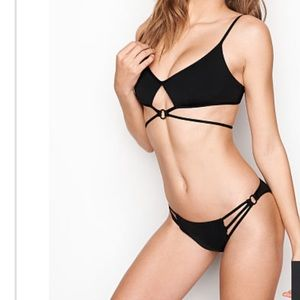 Victoria's Secret Wrapped Keyhole Bikini Swim Suit